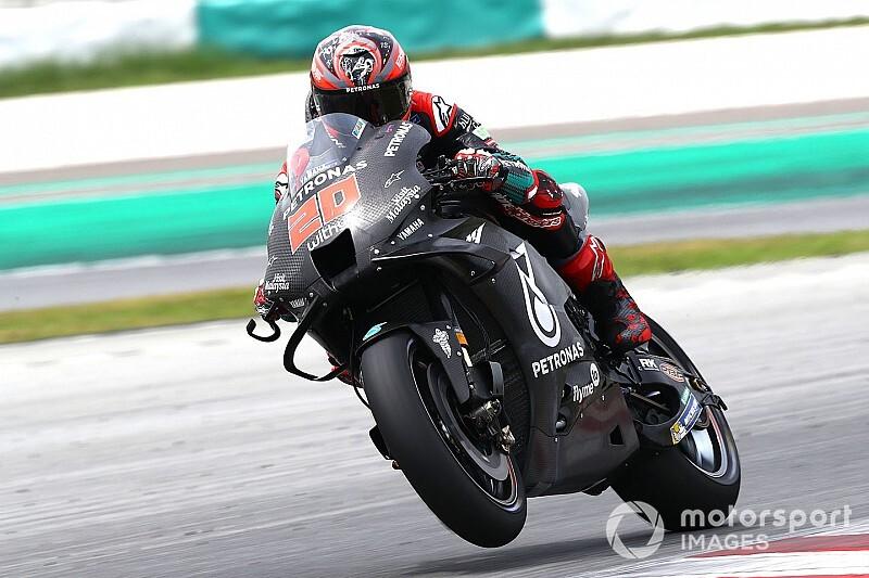 Test MotoGP Sepang, Giorno 2: bis di Quartararo, cade Marquez