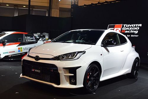 Toyota already testing 2021 WRC challenger