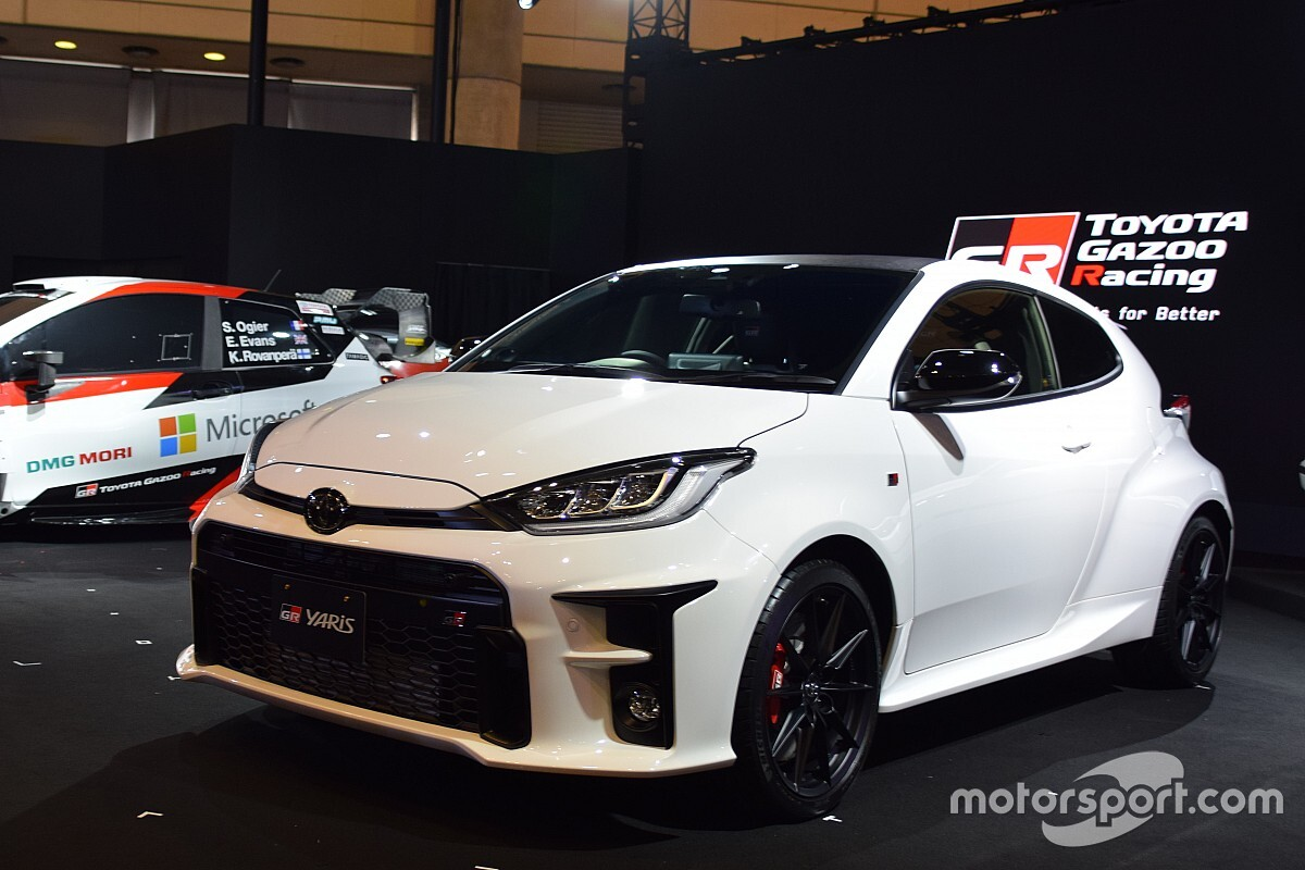 Toyota şimdiden 2021 WRC aracını test ediyor