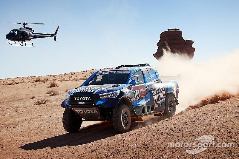 Van Loon in de problemen tijdens vierde etappe Dakar 2020