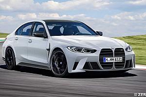 Renderképen mutatta be egy modellező, hogyan lehetne elfogadhatóbb a BMW M3-on a hatalmas hűtőrács