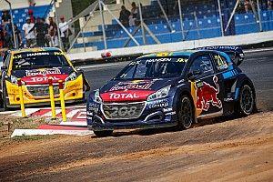 Hansen poised to defend World Rallycross title