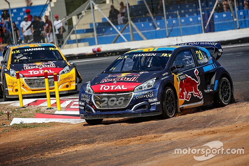 Hansen poised to defend World Rallycross title