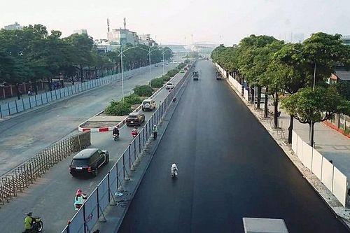 Circuit GP Vietnam krijgt laatste asfaltlaag