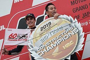 Championnat - Quartararo meilleur rookie, Honda champion constructeurs