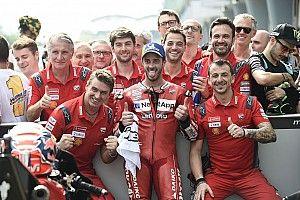 Ducati, a defender el título de equipos con uñas y dientes