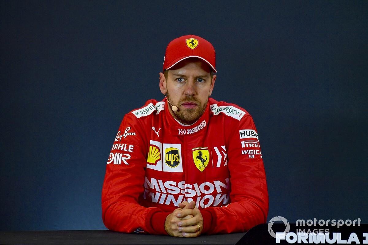 Vettel : Ferrari ne voulait pas voir la vérité en face