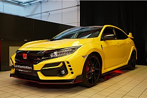 Honda Civic Type R Limited Edition, pronta per la pista