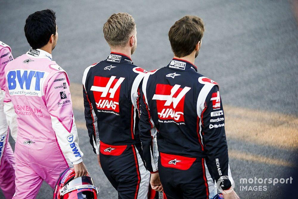 Haas veut garder les mêmes pilotes de 2021 à 2022