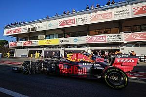 F1テスト2日目午前、ペレスが最速。メルセデスに疑いの目? ホンダ勢も好調