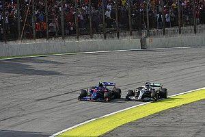 Gasly szerint a Honda javulása nélkül nem tudta volna maga mögött tartani a Mercedest