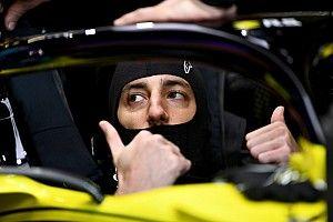 Hulkenberg'le çalışmaktan memnun olan Ricciardo, Ocon'dan korkmuyor