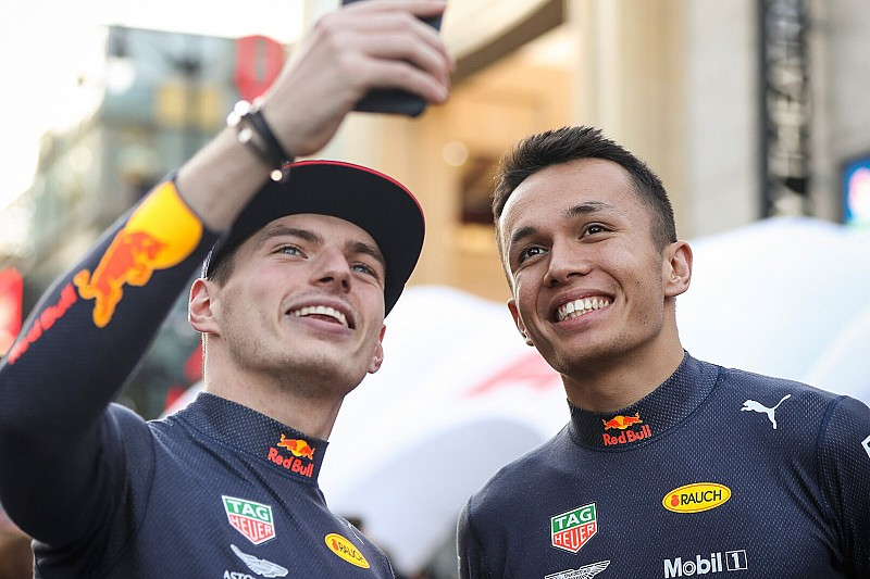 "Albon ""shares many of the same virtues"" as Verstappen - Horner"