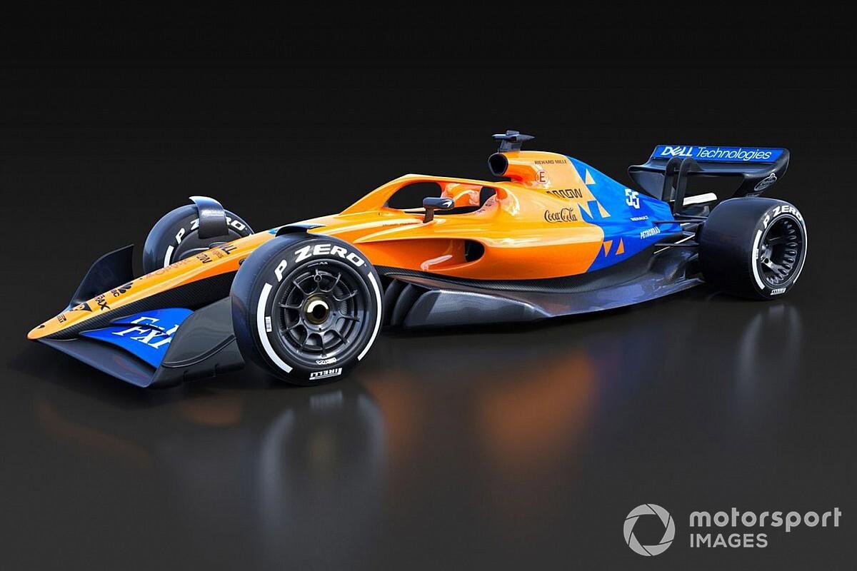 McLaren, Renault и Williams раскрасили машину-2021 в свои ливреи
