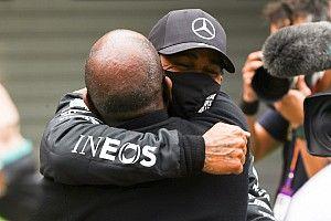 """Hamilton'ın babası Anthony: """"Lewis'in hedefi şampiyonluk rekoru değil"""""""