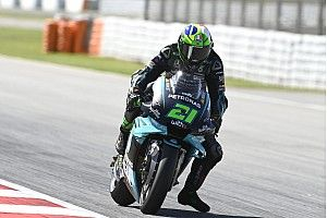 "Yamaha speed deficit ""best news"" of Friday - Morbidelli"