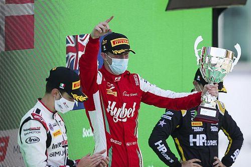 Monza F3: Vesti supera a Pourchaire en una carrera emocionante