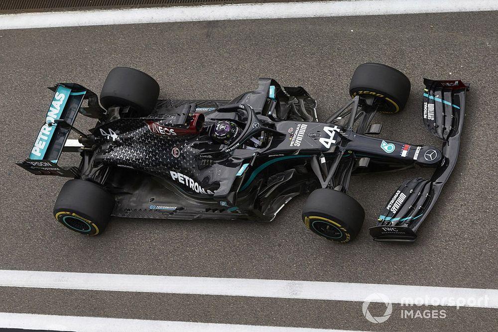 Sanción doble a Hamilton en el GP de Rusia