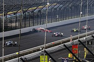 "Dixon ""surprised"" stewards didn't red flag Indy 500 for late crash"