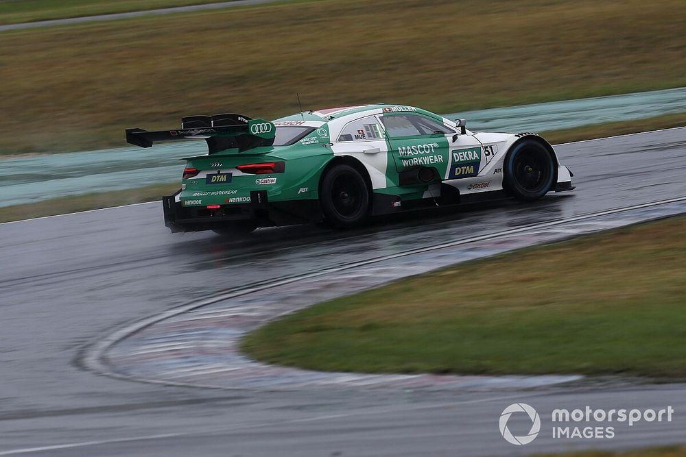 Müller pakt DTM-pole op Lausitzring, Frijns rijdt derde tijd