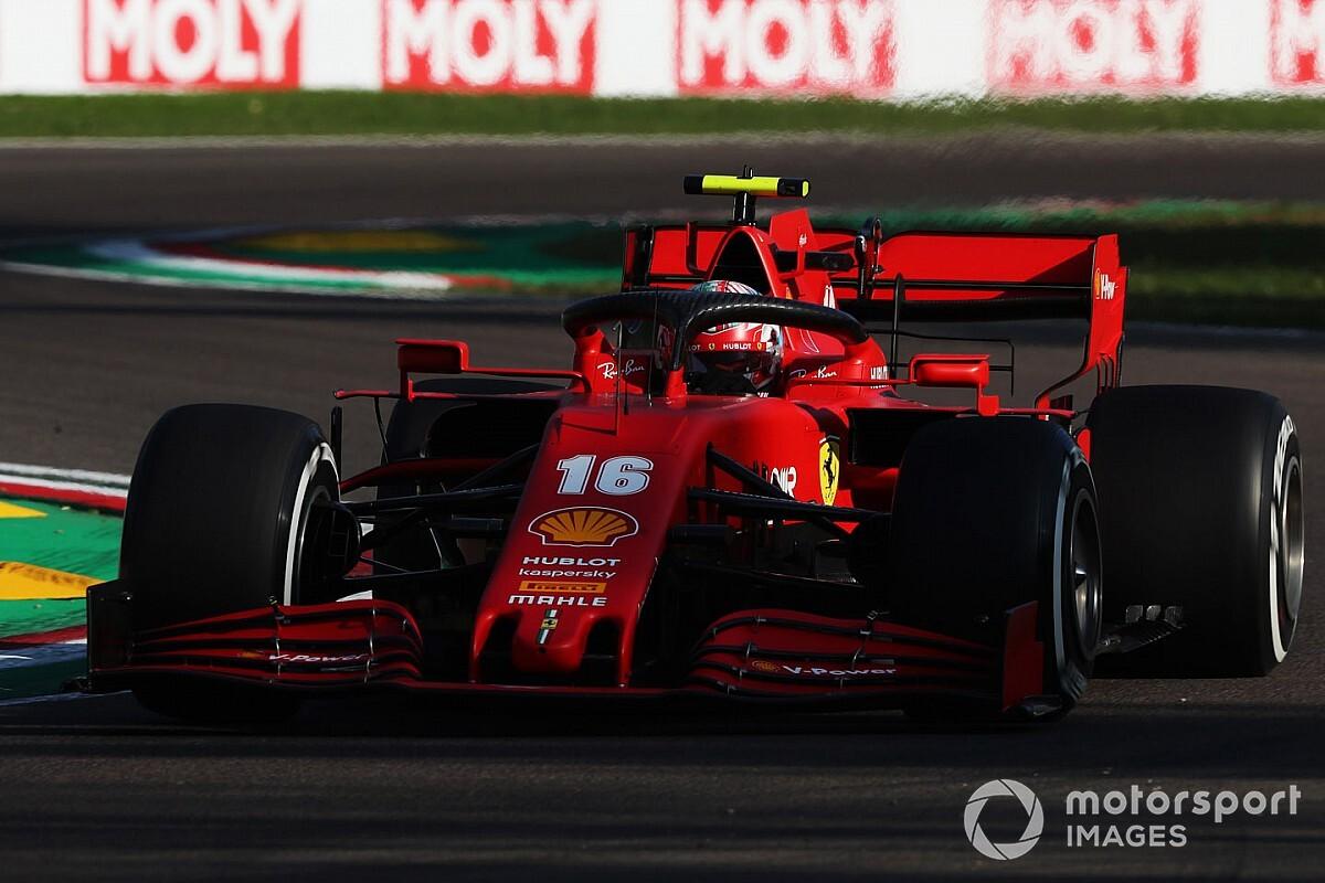 Ferrari: ecco perché la coperta di Imola è molto corta