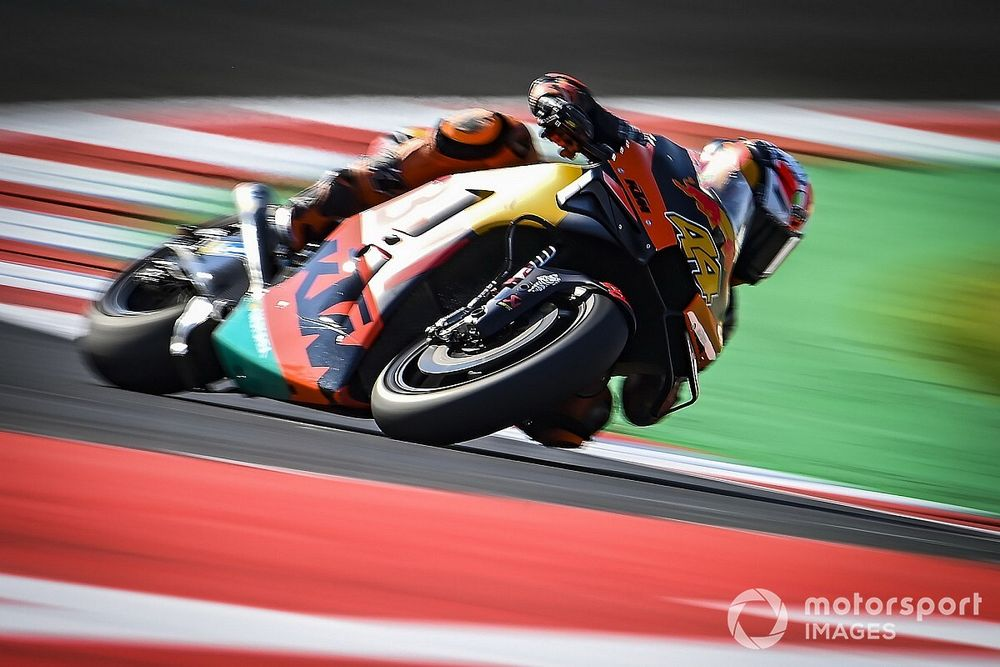 Test MotoGP Misano: KTM al top alle 13, nuovo scarico Yamaha