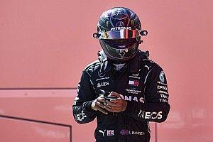 """Hamilton en pole : """"Si vous saviez à quel point c'était dur!"""""""
