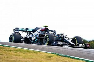Bottas snelste in tweede training, Verstappen en Stroll botsen