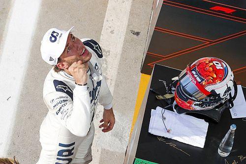 Course - Pierre Gasly, héros français du GP d'Italie!