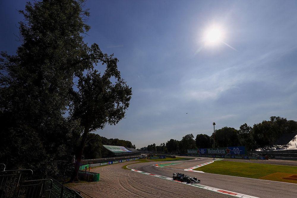 Weerbericht F1 Grand Prix van Italië: Droog, zonnig en warm