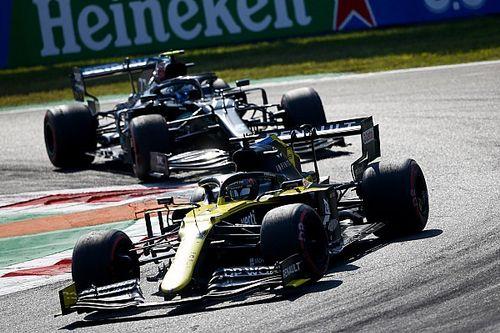 Ricciardo surpris par le manque de rythme de Bottas à Monza