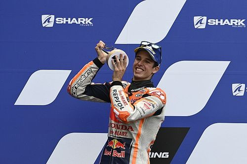 """Premier podium d'Álex Márquez : """"Nous avions une chance de gagner !"""""""