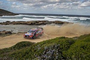 Las mejores fotos del Rally de Cerdeña que tuvo final feliz