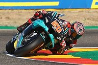 Michelin explains Quartararo's Aragon GP tyre issue