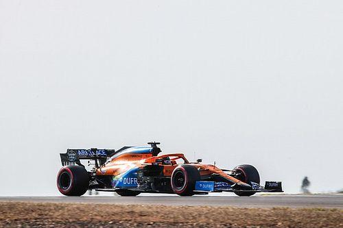 Sainz protagonizó el inicio del GP de Portugal: ¡gran salida y liderato!