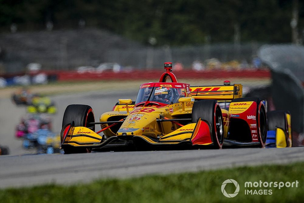 """Hunter-Reay frustrated by Dixon """"hip-check"""", missed opportunities"""