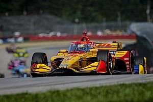 "Hunter-Reay frustrated by Dixon ""hip-check"", missed opportunities"