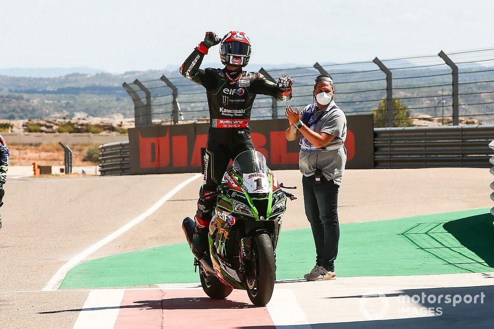 Aragon WSBK: Rea beats Davies to win, first podium for Honda