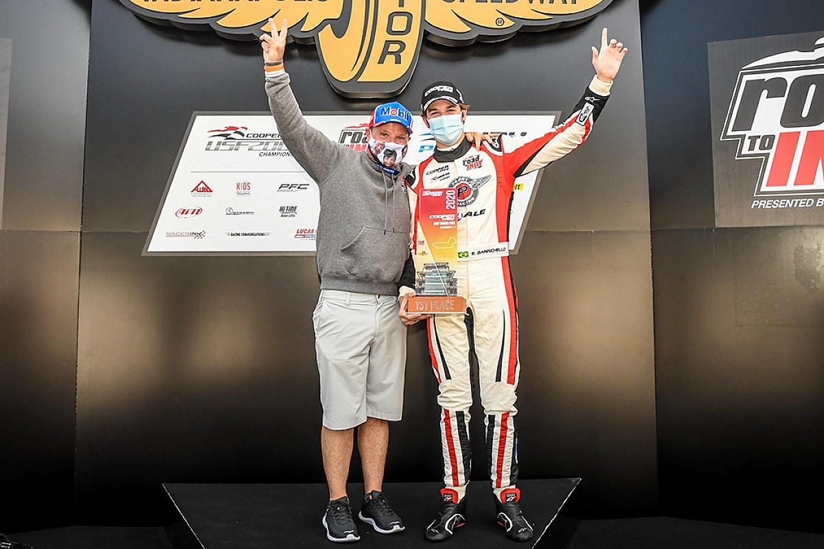 Oudste zoon Barrichello maakt Europees racedebuut in FREC