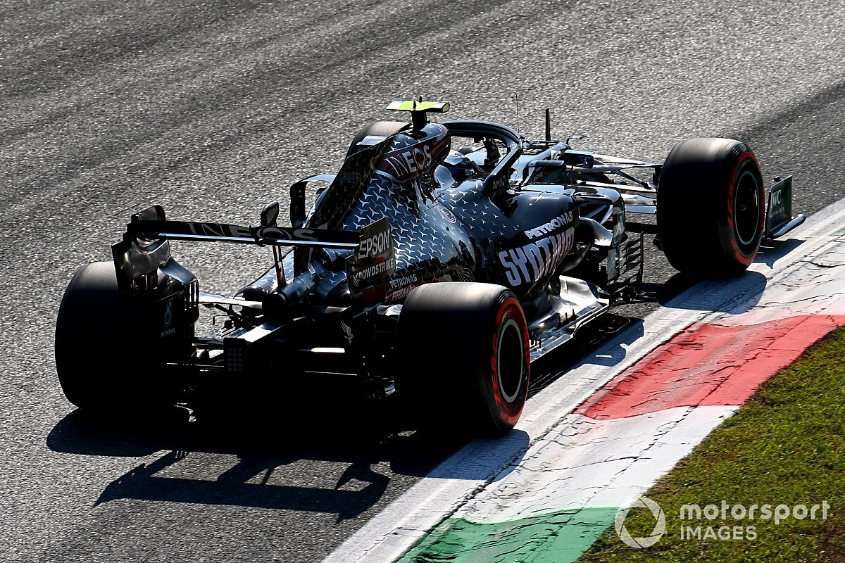 Italian GP: Bottas quickest in FP3; Ricciardo hits trouble