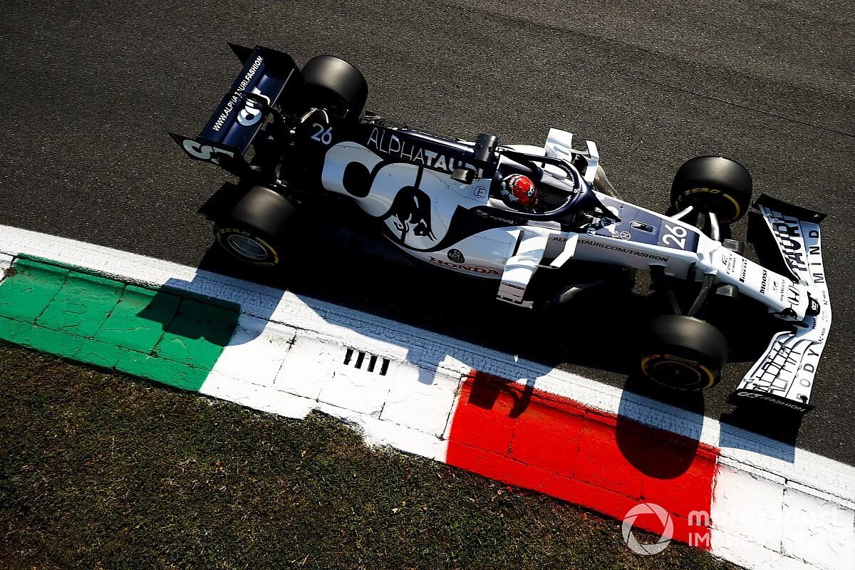 F1イタリアFP1速報:ボッタス首位。アルボン3番手、他ホンダPU勢も上位に並ぶ