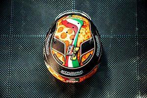 Galeri: Norris'in İtalya'da kullanacağı kask tasarımı