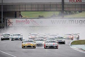 Carrera Cup Italia, Mugello: super Cerqui mentre la pioggia cambia tutto