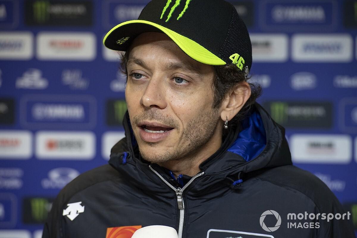 "Valentino Rossi ressent les symptômes d'une ""grosse grippe"""