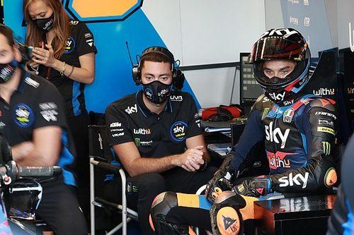 Marini ontsnapt aan blessure na zware crash in Le Mans