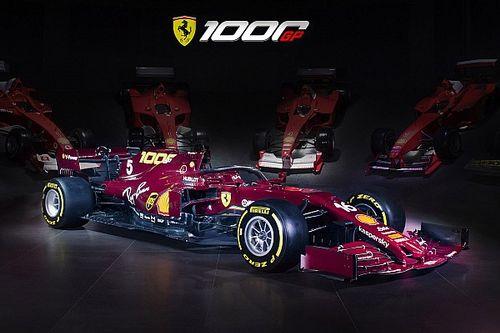 Ferrari revela pintura de milésimo GP da F1 em Mugello