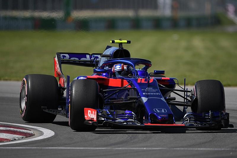 La Toro Rosso monta una power unit nuova a Gasly: partirà ultimo