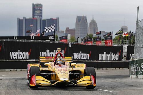 IndyCar Detroit Race 2: Drama akhir balapan, Hunter-Reay menang