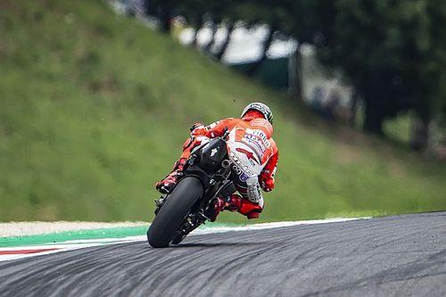 Lorenzo s'interroge sur la qualité des pneus, Michelin lui répond