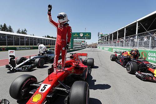 Vettel bate recorde da pista e é pole do GP do Canadá